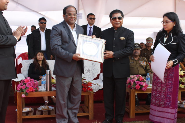Mission Green Champion Award from Chief Minister Meghalaya