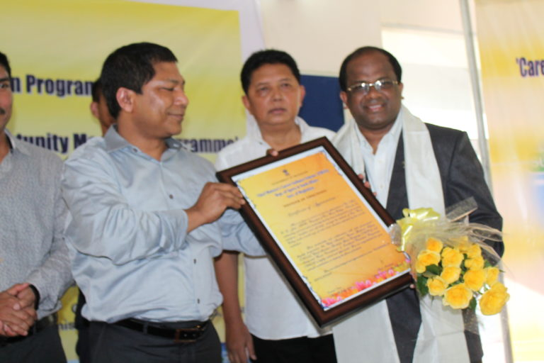 Pioneer of Education from Chief Minister Meghalaya